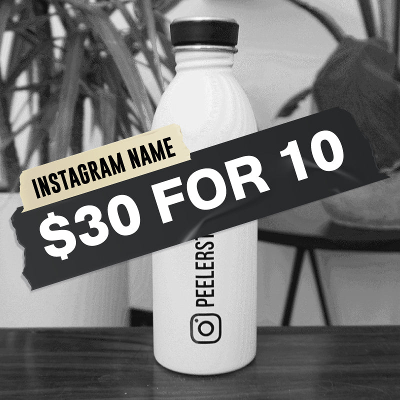 x10 FOR $30 PERSONALISED Car Stickers Instagram Decal