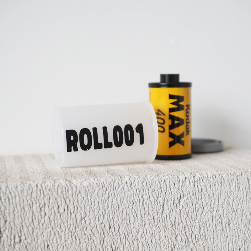 PERSONALISED Film Roll Case Name Decal Sticker