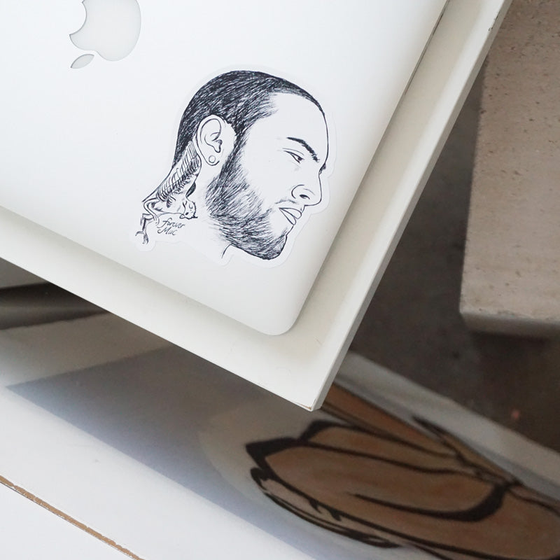 Forever Mac Printed Sticker