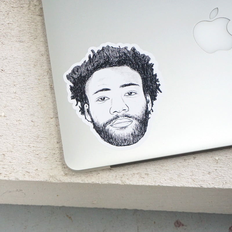 Childish Gambino Printed Sticker