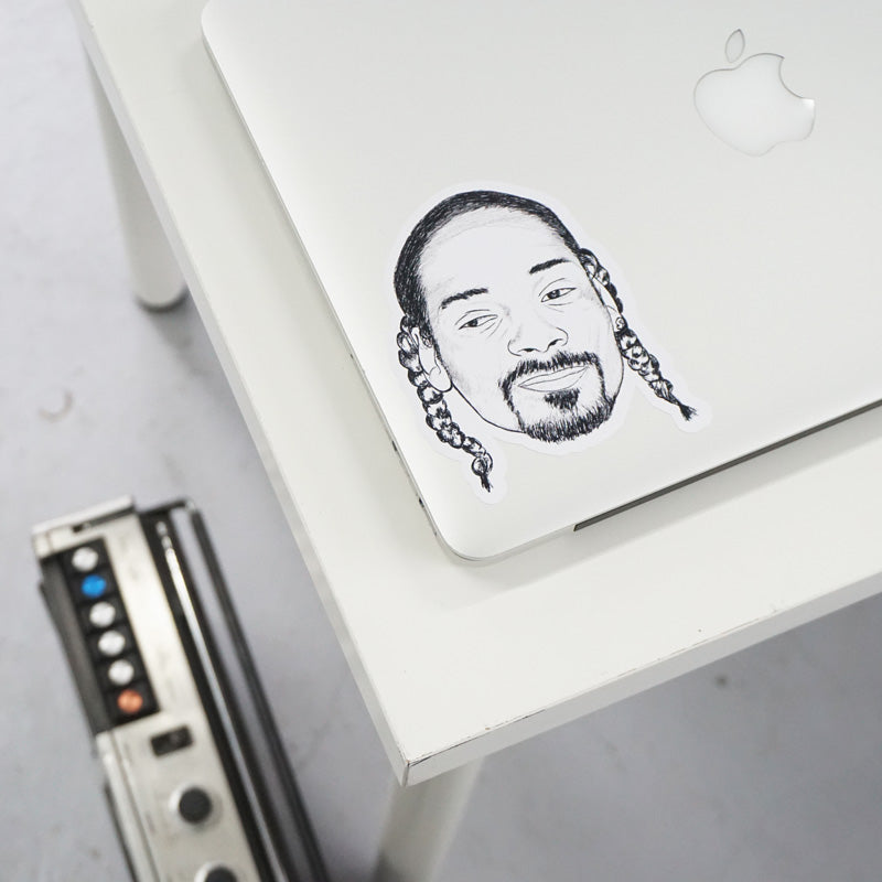 Snoop Dogg Printed Sticker