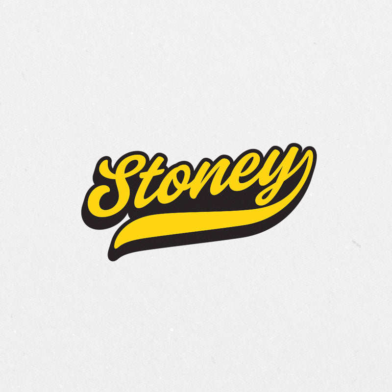 Stoney Printed Sticker