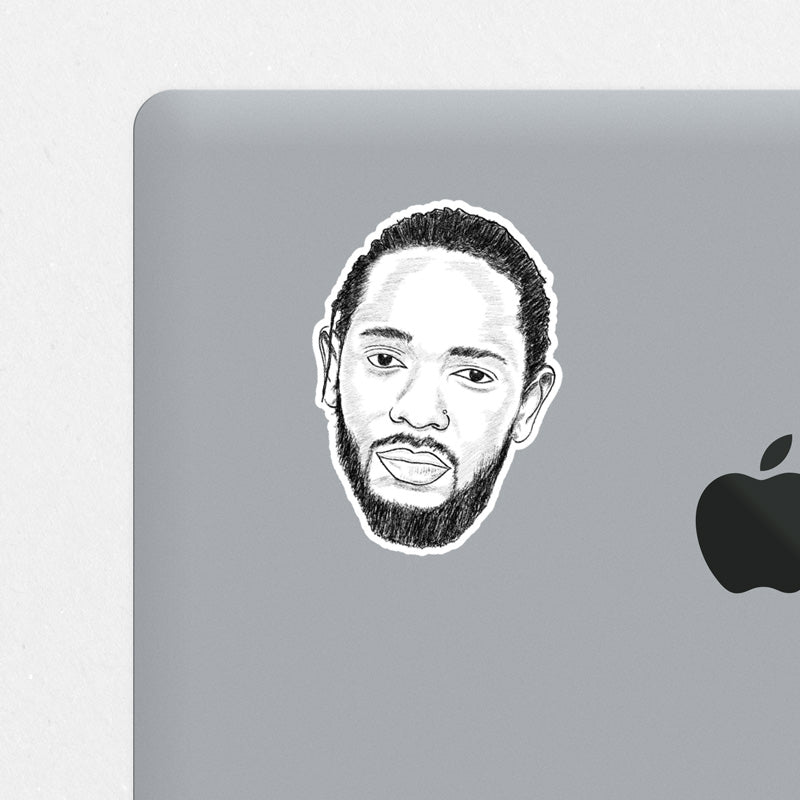 Kendrick Printed Sticker
