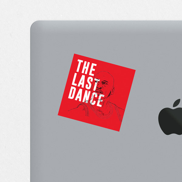 The Last Dance Printed Sticker
