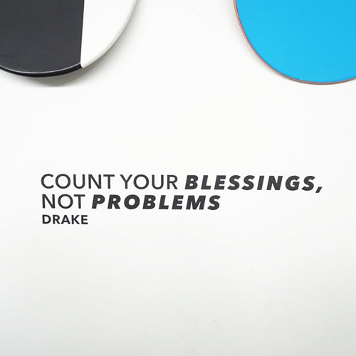 COUNT YOUR BLESSINGS Wall Decal Sticker