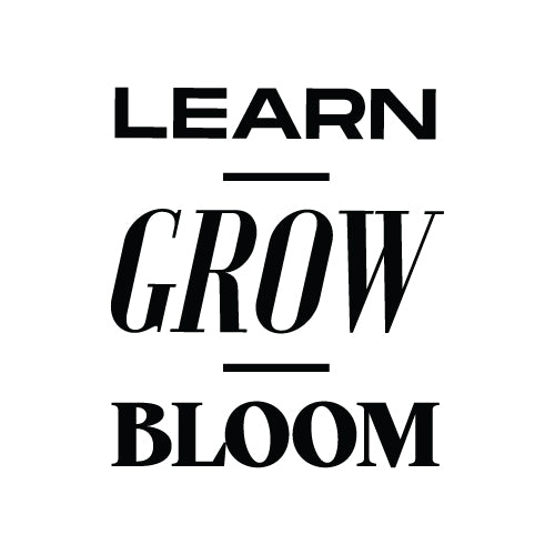 LEARM GROW BLOOM Wall Decal Sticker