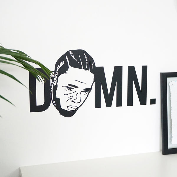 DAMN Wall Decal Sticker