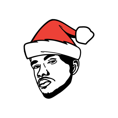 CHRISTMAS HAT FRANK OCEAN Decal Sticker