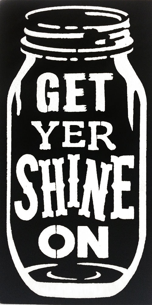 "12"" x 24"" Get Your Shine On"