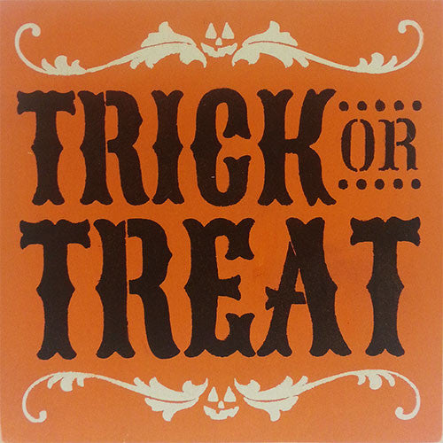 "12"" x 12"" Trick or Treat"