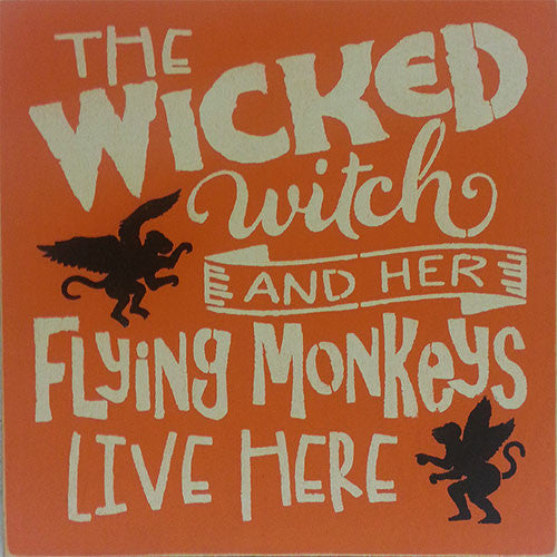 "12"" x 12"" The Wicked Witch"