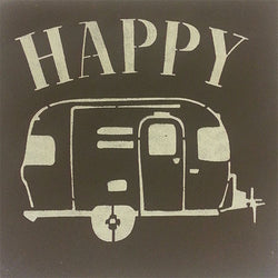 "12"" x 12"" Happy Camper"