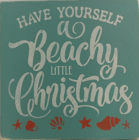 "12"" x 12"" Have Yourself A Beachy Little Christmas"