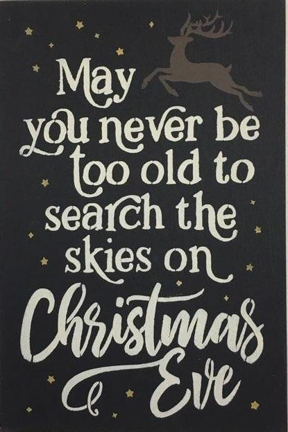 "12"" x 18"" May You Never Be Too Old To Search The Skies"