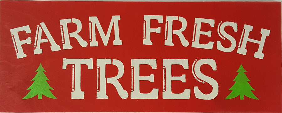 "9.5"" x 24"" Farm Fresh Trees"