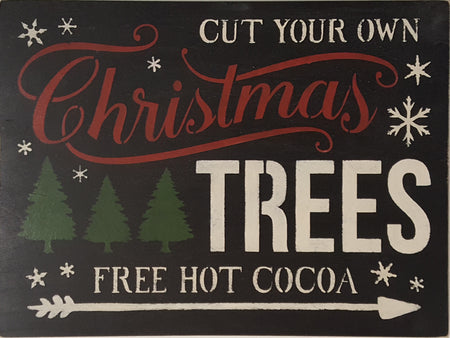 "20"" x 24"" Cut Your Own Christmas Trees"