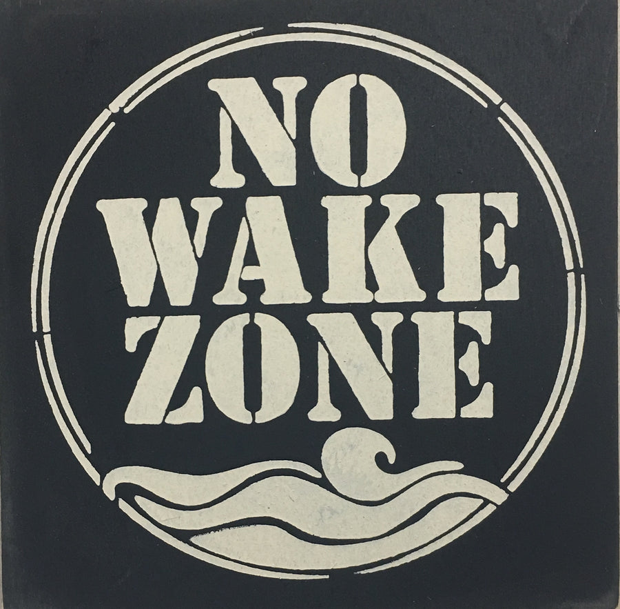 "12"" x 12"" No Wake Zone"
