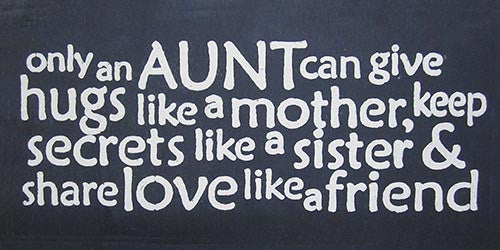 "6"" x 12"" Only An Aunt Can..."