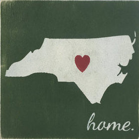 "12"" x 12"" North Carolina"