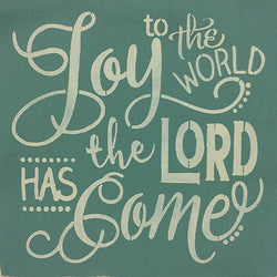 "12"" x 12"" Joy to the World The Lord Has Come"