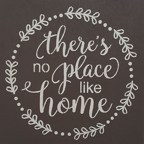 "12"" x 12"" There's No Place Like Home"