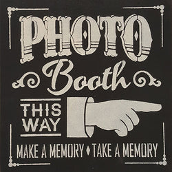 "14"" x 14"" Photo Booth"