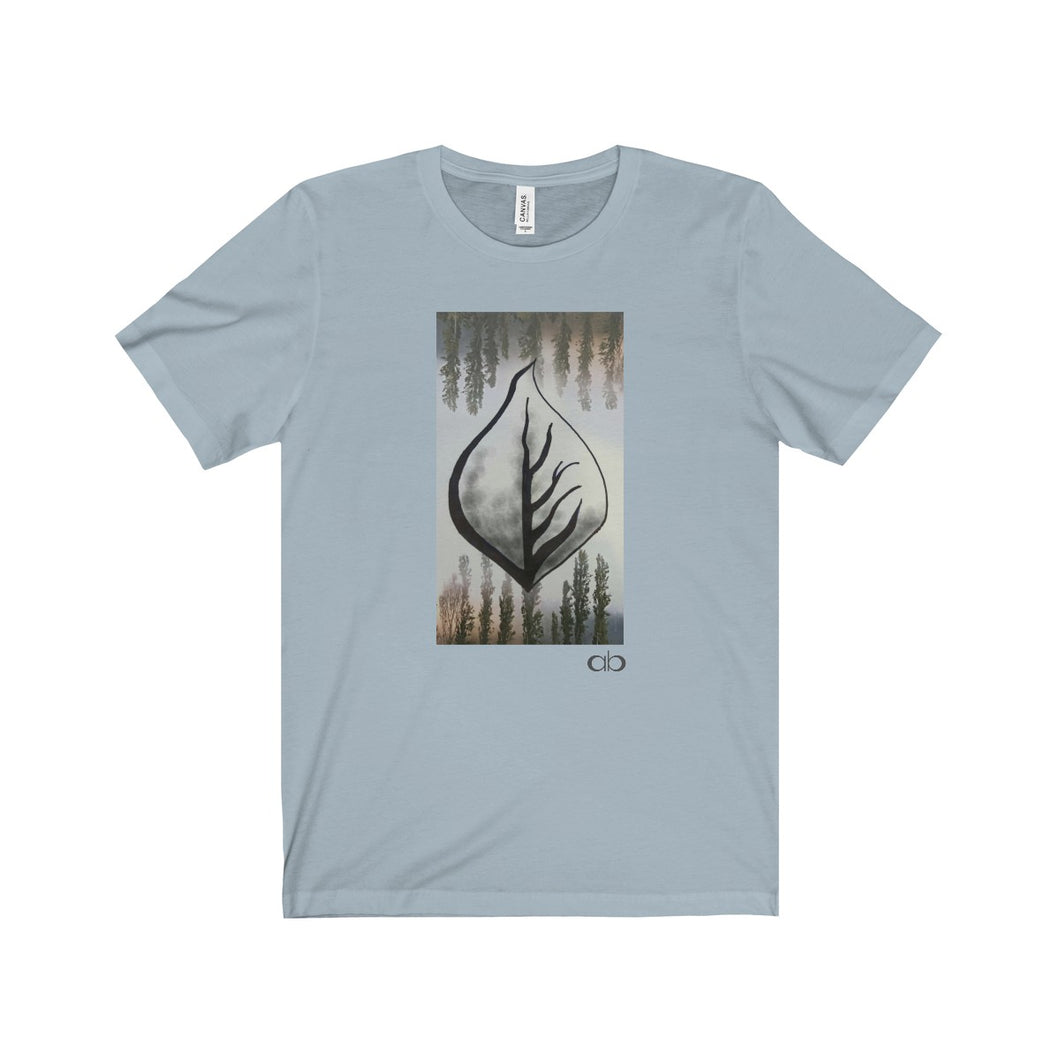 Misty Leaf: Men's Jersey Short Sleeve Tee