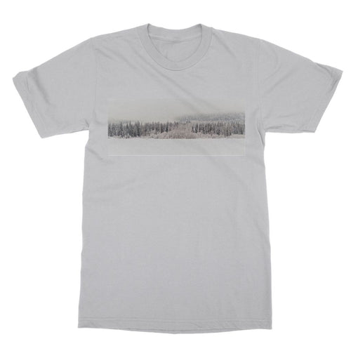 White Out:  Softstyle Ringspun T-Shirt