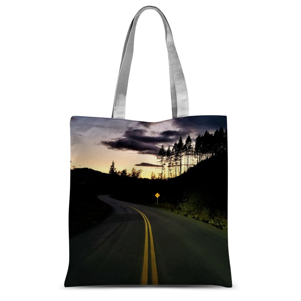 Sunset Journey:  Sublimation Tote Bag