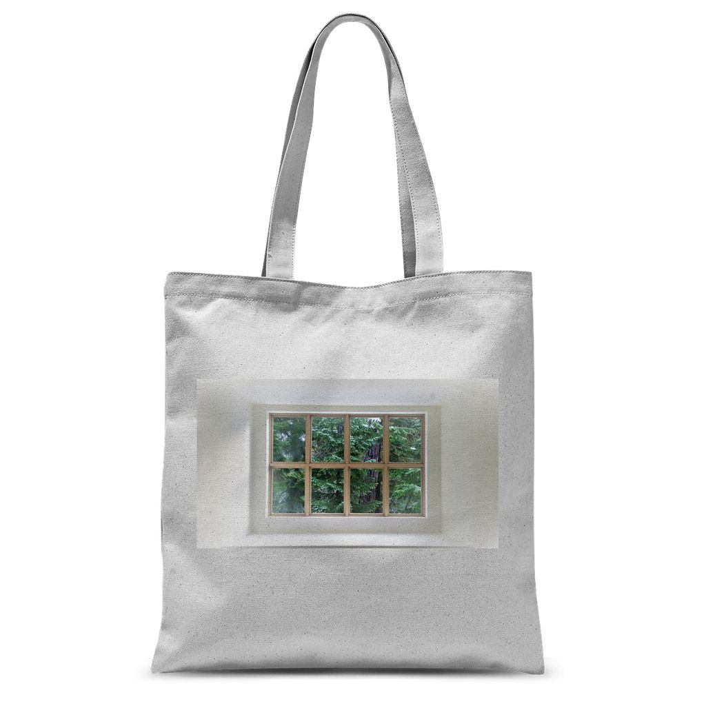 Hygge Window: Sublimation Tote Bag