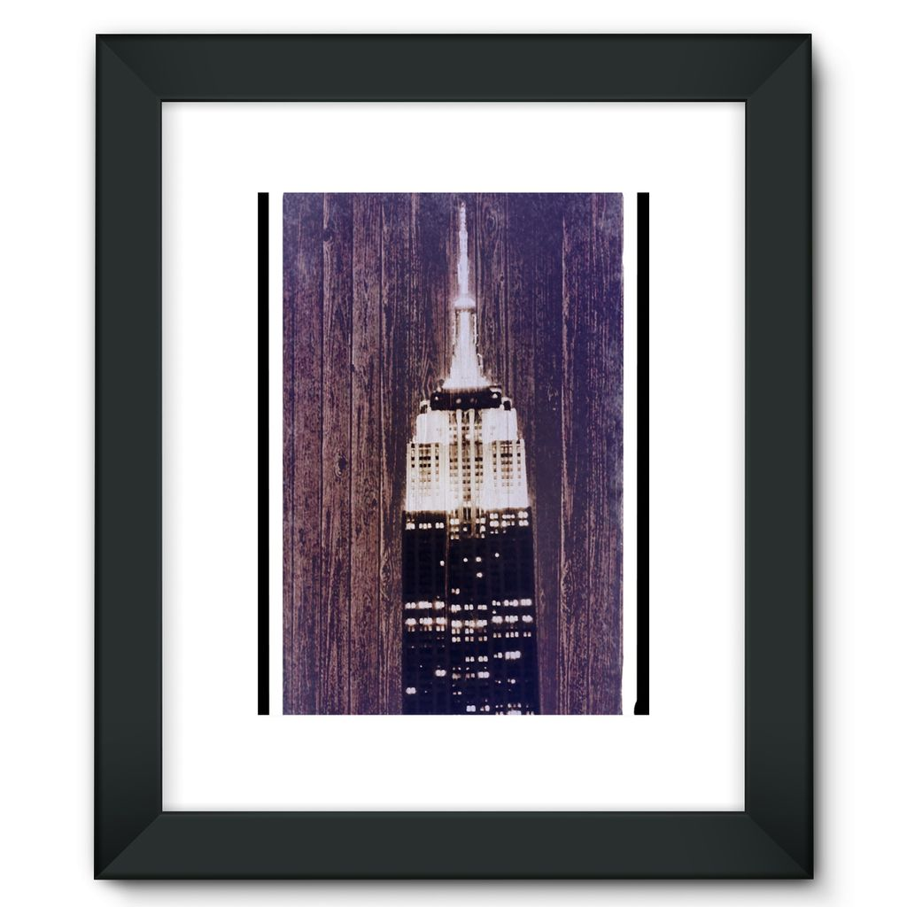 Empire's Bark:  Framed Fine Art Print