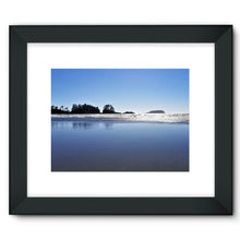Glassy Surf:  Framed Fine Art Print