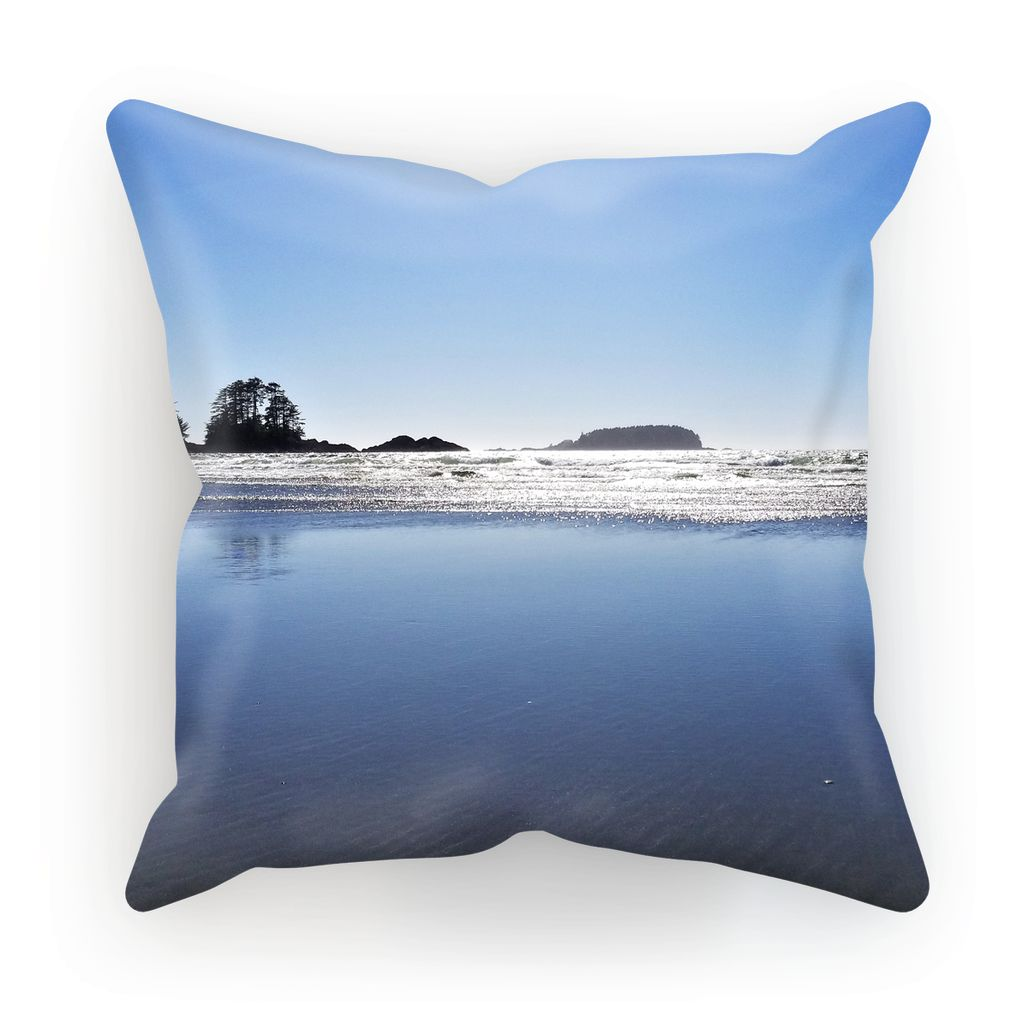 Glassy Surf:  Cushion