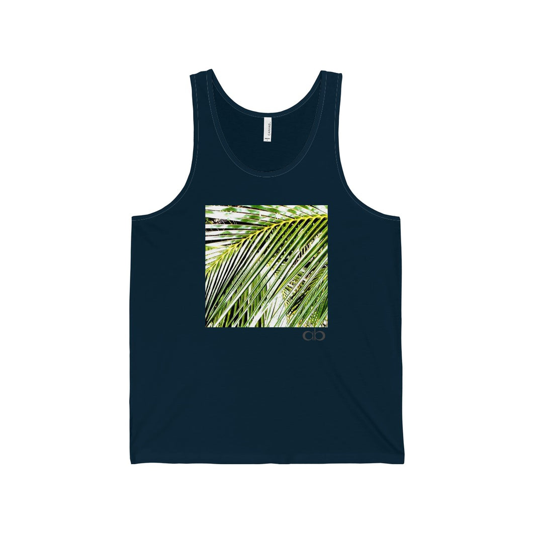 Filtered Palm: Men's Jersey Tank
