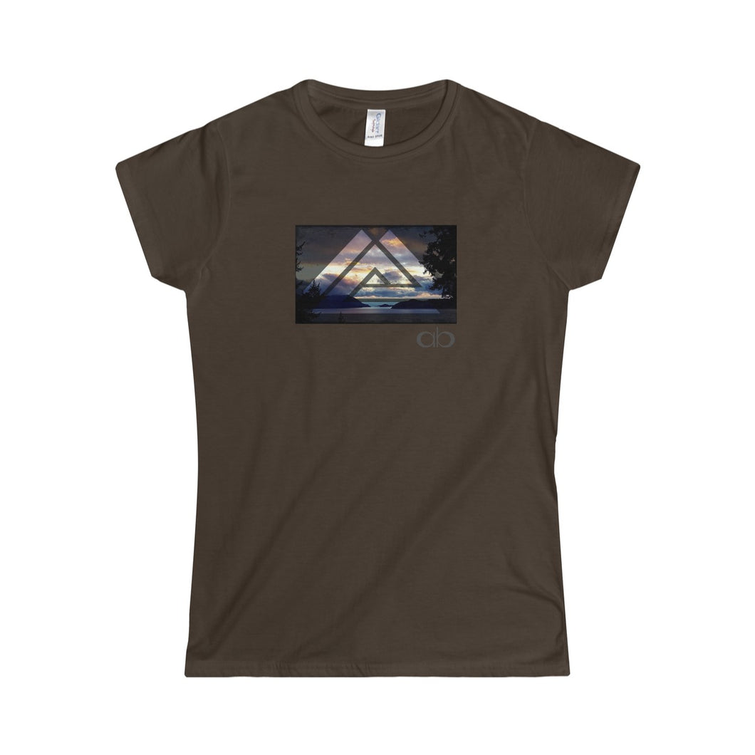 Tri- Howe Sound: Women's Softstyle Tee