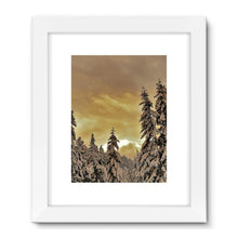 Sunset Valley: Framed Fine Art Print