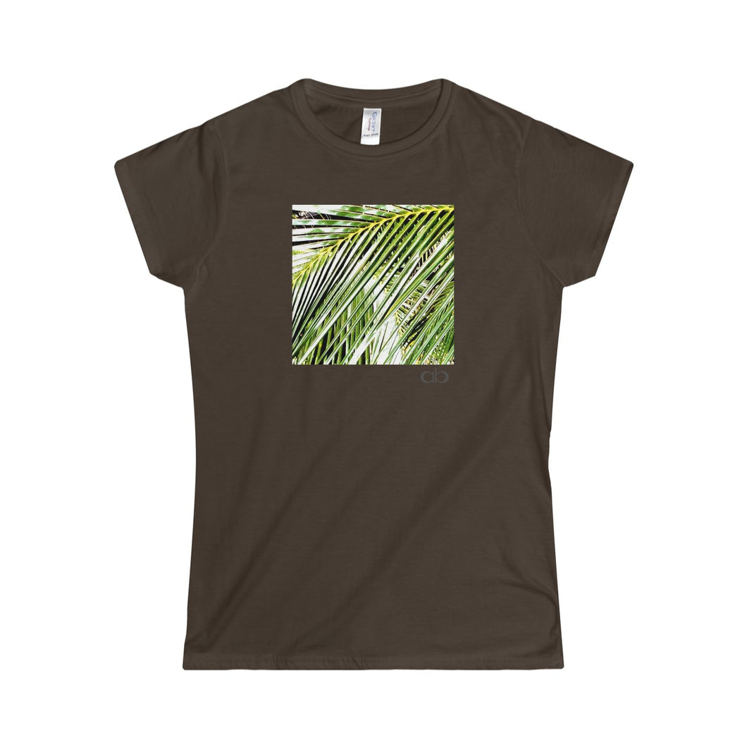 Filtered Palm: Women's Softstyle Tee