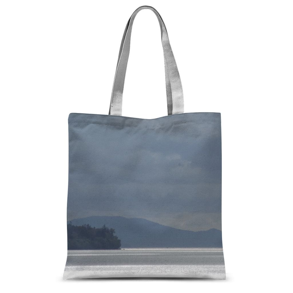 Ocean Shine:  Sublimation Tote Bag