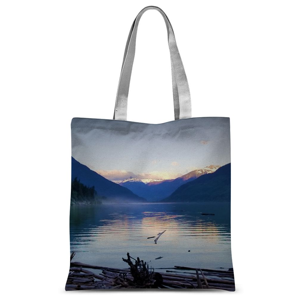 Lake Palette:  Sublimation Tote Bag