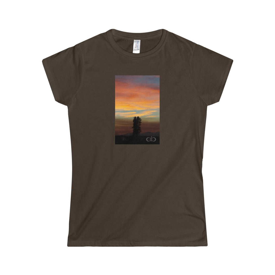 Lone Wolf: Women's Softstyle Tee