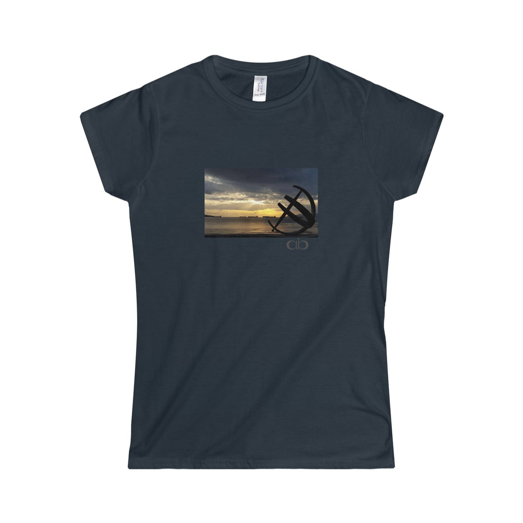English Bay: Women's Softstyle Tee