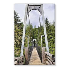 Forest Bridge:  Stretched Canvas