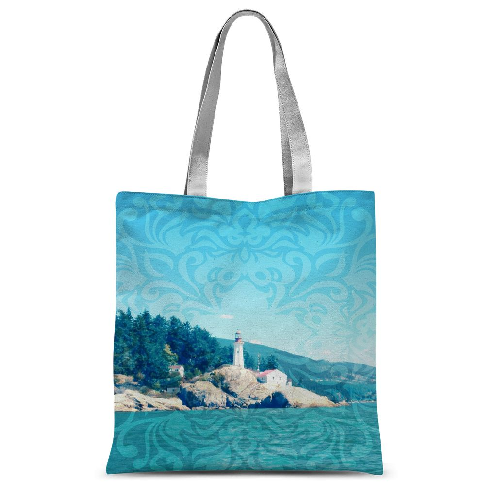Light Scape:  Sublimation Tote Bag