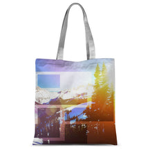 Whistler Geo:  Sublimation Tote Bag