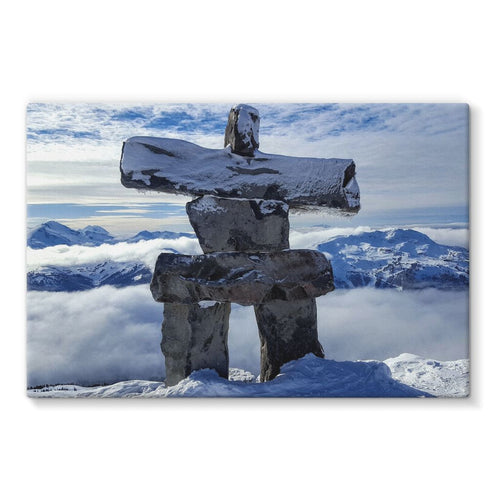 Inukshuk:  Stretched Canvas