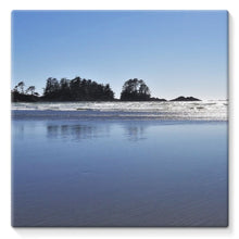 Glassy Surf:  Stretched Canvas