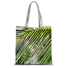 Filtered Palm: Tote Bag