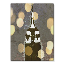 Empire at Night Stretched Canvas
