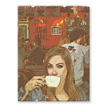 Cafe Joe: Stretched Canvas
