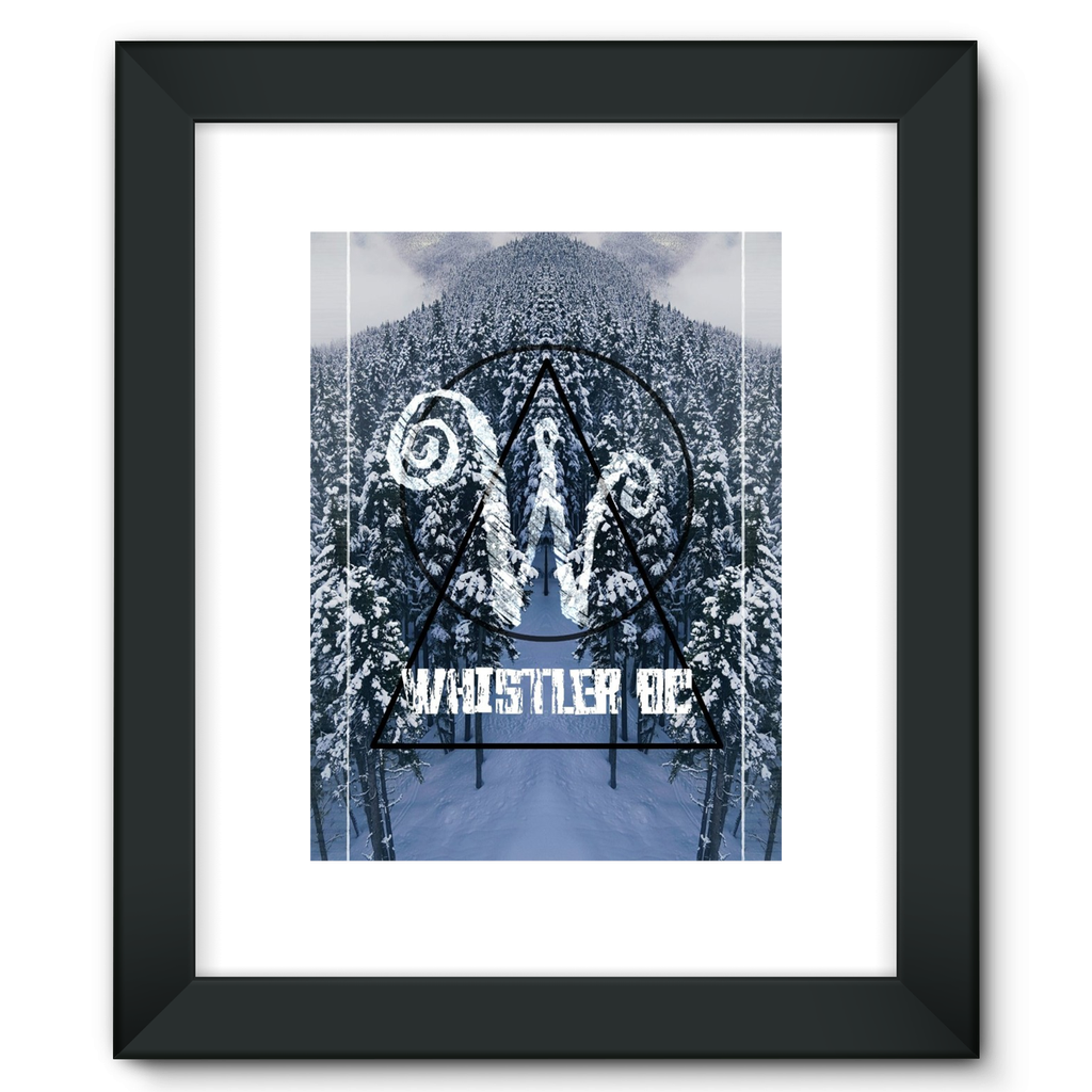 Whistler Wonderland: Framed Fine Art Print